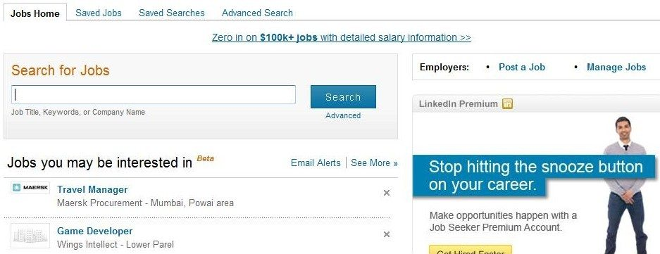 marine engineer and you will get the results this is normal right no this is where the real benefit of linkedin is under each job listing - Linkedin Jobs Search Finding Jobs Using Linkedin