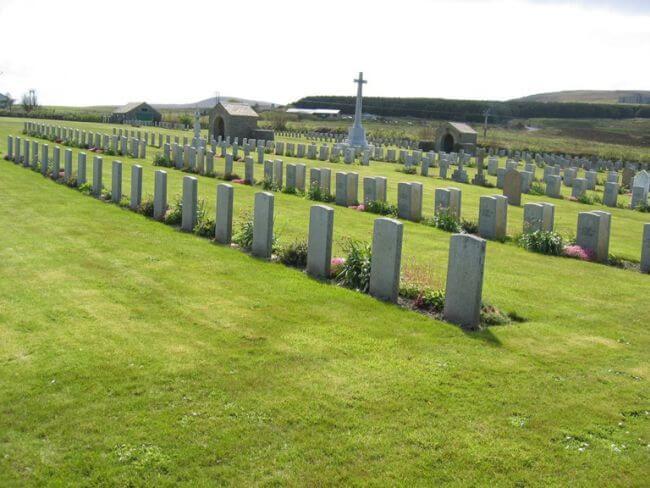 Lyness Royal Navy Cemetery