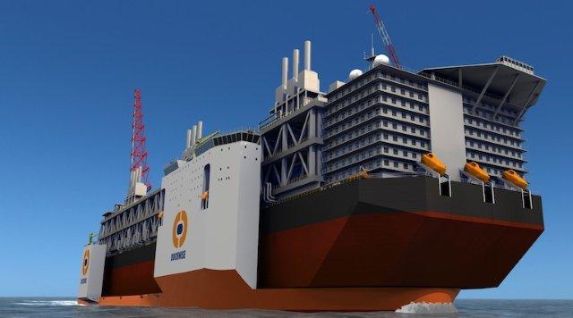 Dockwise Vanguard Type 0 Super Vessel