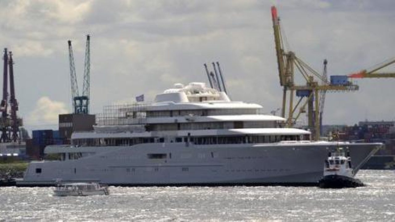 Eclipse – The World's Most Expensive Private Yacht