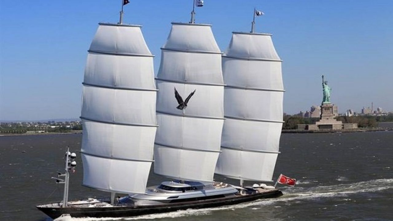 Maltese Falcon- A Fastest Super Yacht with Sails