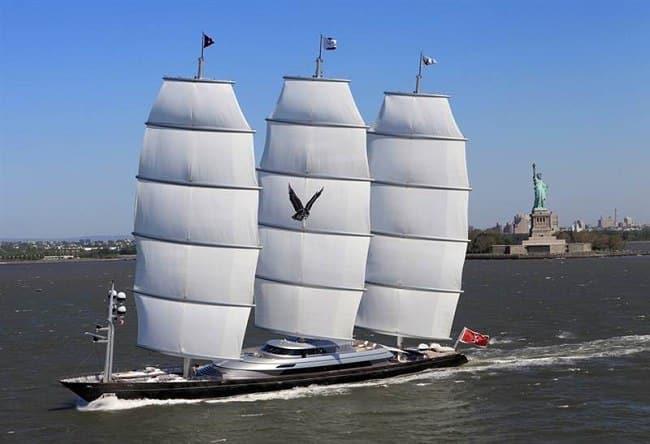 Faucon maltais - Le super yacht à voiles le plus rapide