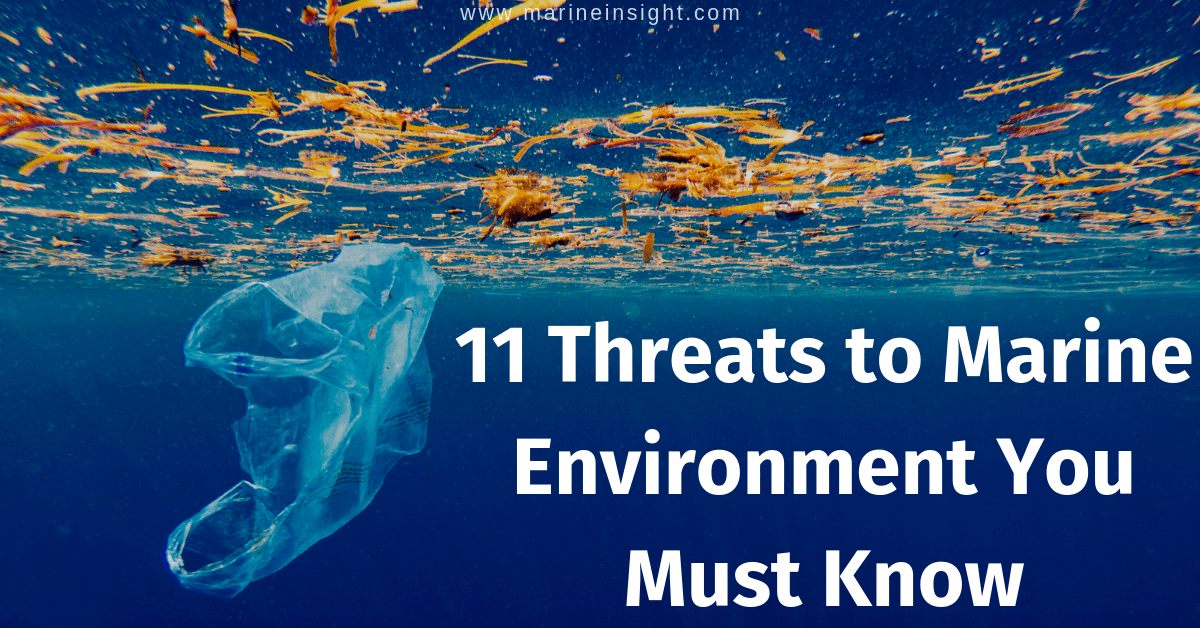 11 Threats to Marine Environment You Must Know