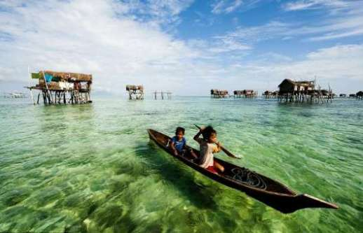 Sea Gypsies of Borneo