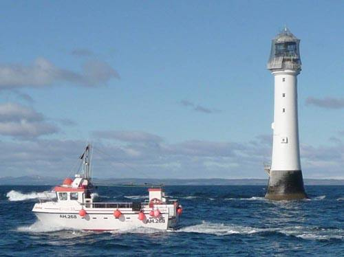 Rock and Bell Rock Lighthouse
