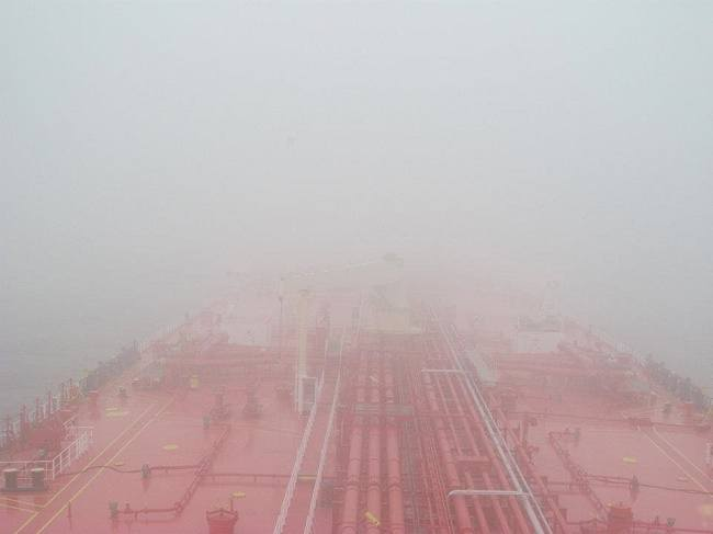 restricted visibility