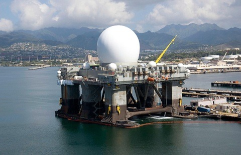 What is the Sea Based X Band Radar?