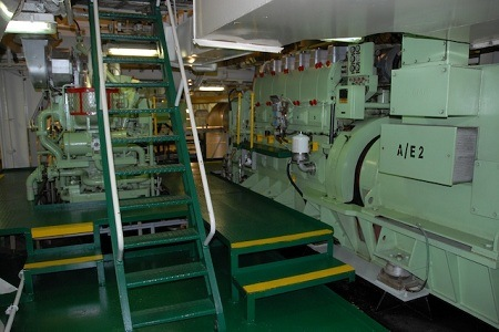 Accidents At Sea Falling Off Engine Room Staircase