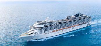 "MSC Cruises Names Its First Meraviglia-Plus Ship ""MSC Grandiosa"""