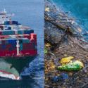 garbage on ship