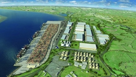 Proposed London Gateway Port