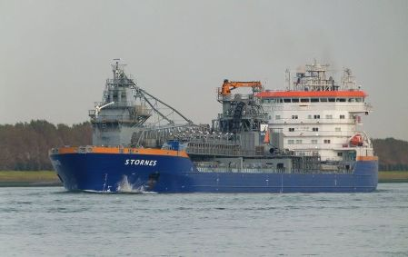 Stornes - The Biggest FallPipe Vessel in the World