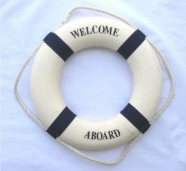 Decorative Nautical Life Buoy