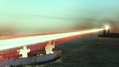 Anti-Piracy Laser Device