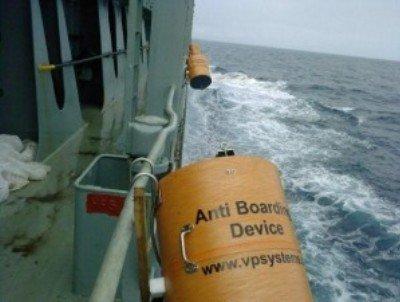 Anti boarding device – Razor Wire Canister