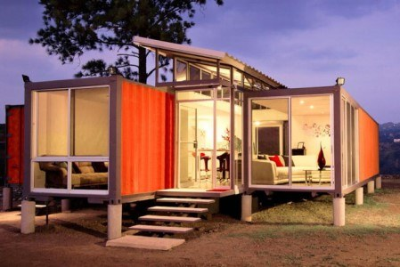 ... Shipping Container House. Credits: Digitaltrends.com