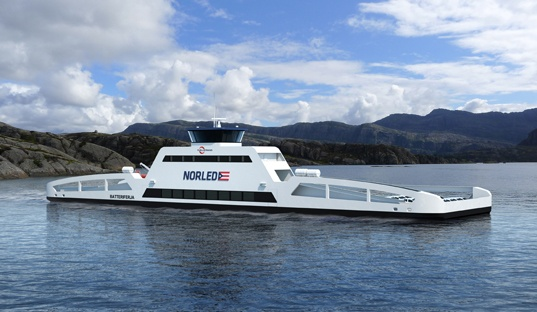 electric car ferry