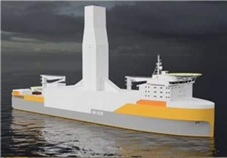 DrillShip Concept In-Ice