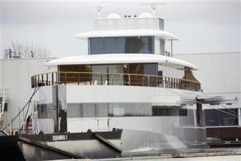 Steve Job's Super Yacht