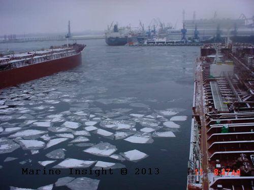 ship ice navigation