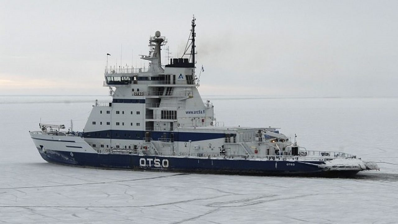 The Otso Ice Breaker Ship