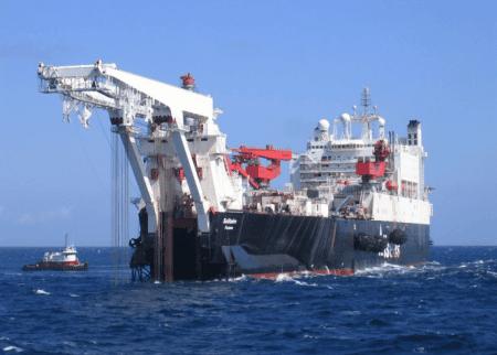 Pipe Laying Ship