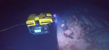 ROV discovers a reef