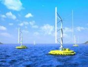 The World's First Floating Wind Current Turbine Plant