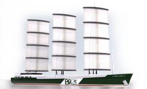 b9 wind power ship