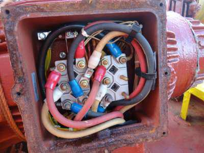motor connection box