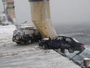 Raw Video: 64 Cars Destroyed On Ship's Deck By Sea Storm