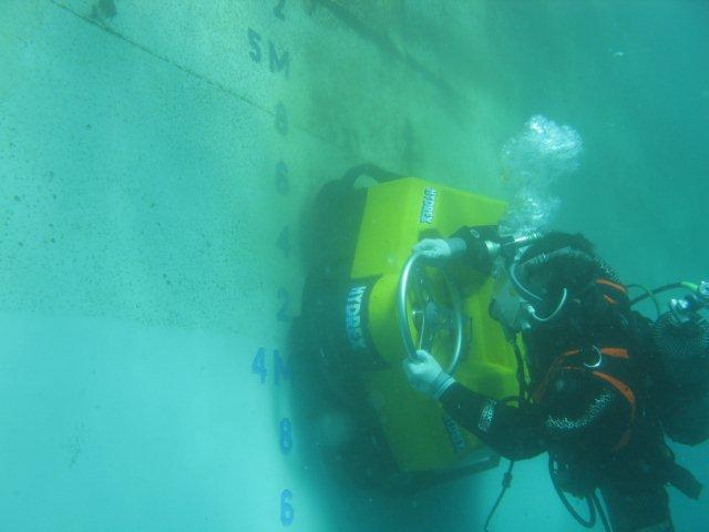 underwater hull maintenance