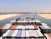 Watch: Timelapse Video of a Maersk Container Ship Through Suez Canal
