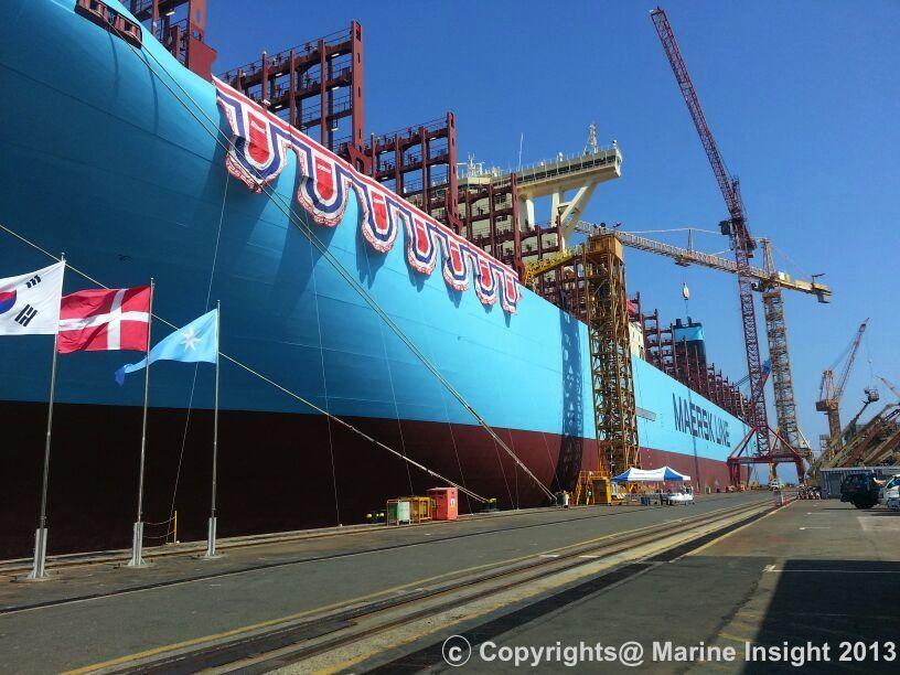 Triple E Vessel Marie Maersk