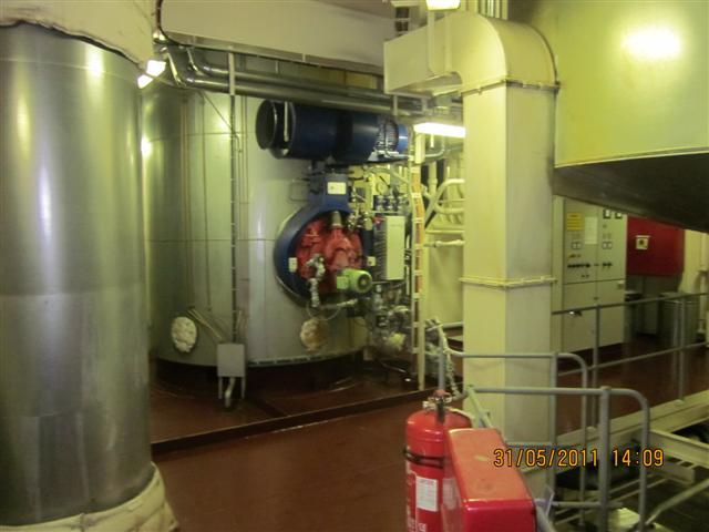 Verticale Boiler