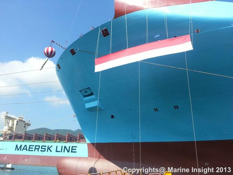 Marie Maersk Naming Ceremony