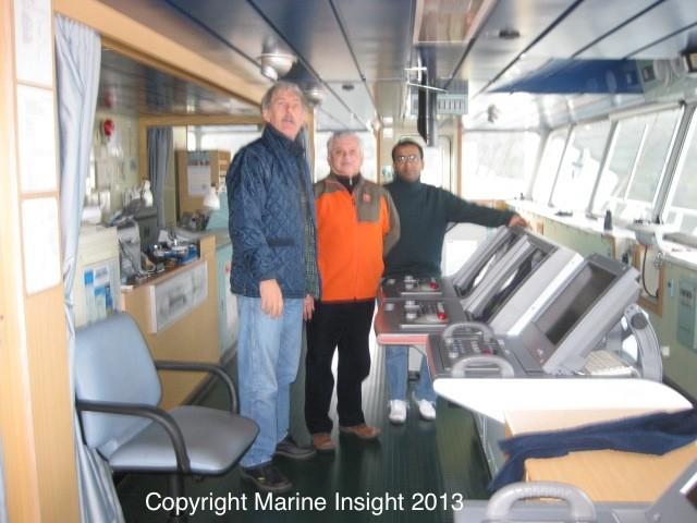 seafarers on ship