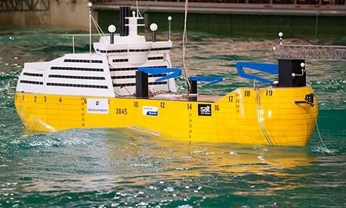 Roll- Dampening Ship