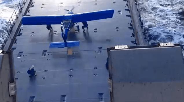 aircraft on ship