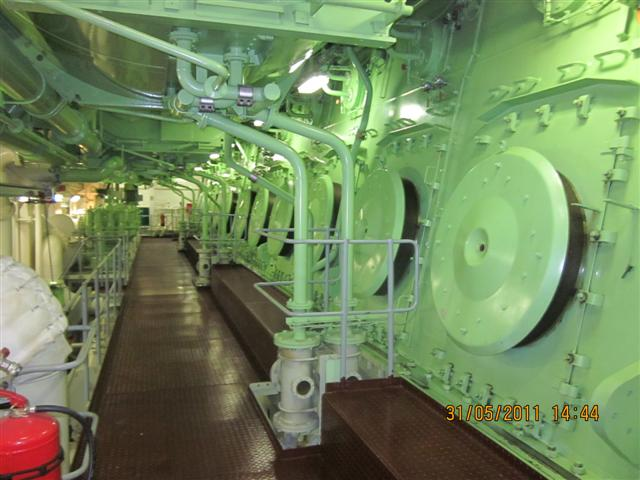How To Prevent Crankcase Explosion On A Ship