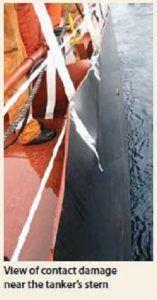 hull damage