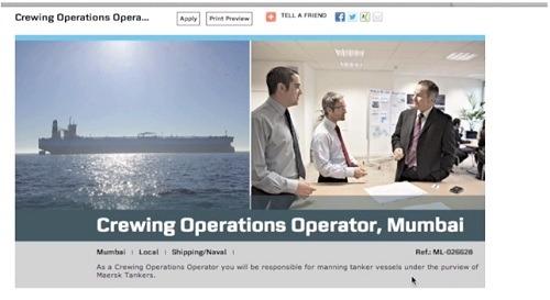 maersk career portal