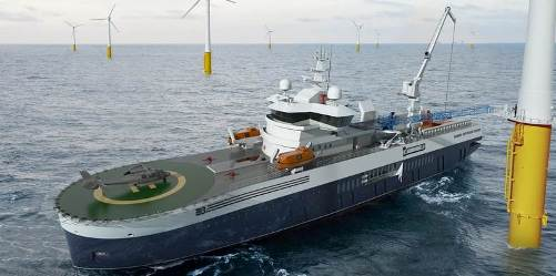 Wind Farm Service Vessel