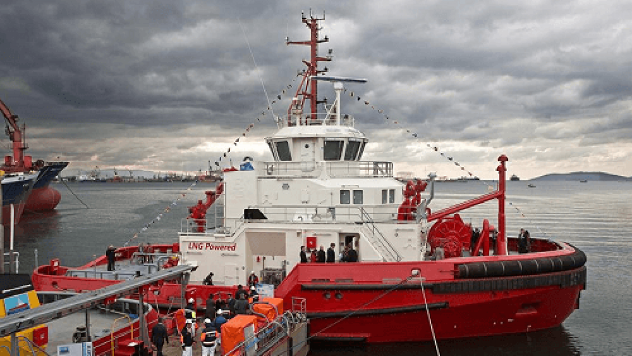 Sanmar Shipyard Completes M/T Borgøy, World's First LNG