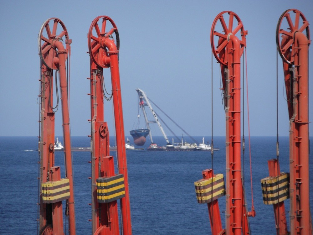chemical tanker ship salvage