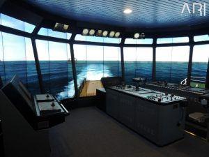 360 deg offshore bridge simulator