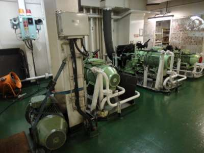air compressor ship
