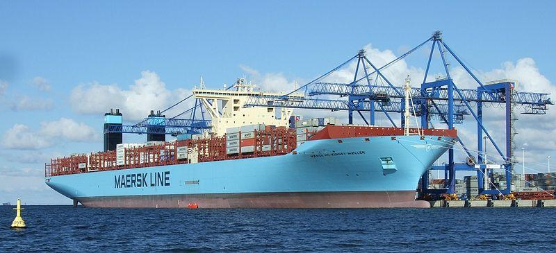 Maersk Triple E Vessels