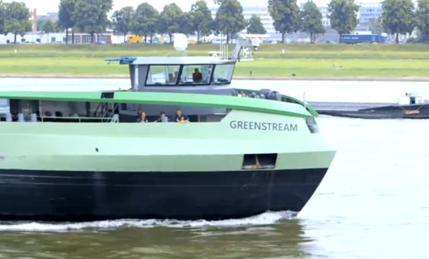 LNG Powered Barge
