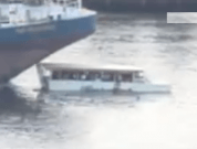 Shocking Video: Barge Crushes Tour Boat in a Fatal Accident